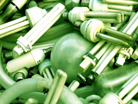 green lighbulbs