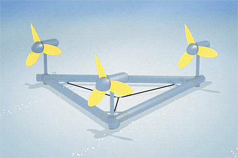 Delta Stream Tidal Power